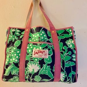 Lilly Pulitzer Originals Large Tote Bag Retired